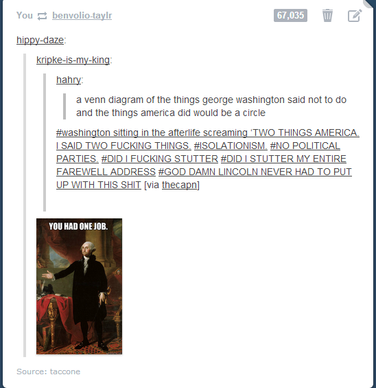 Tumblr posts - >look Alfred he's mad at you for caring about other nations<<<was that a fucking hetalia reference??
