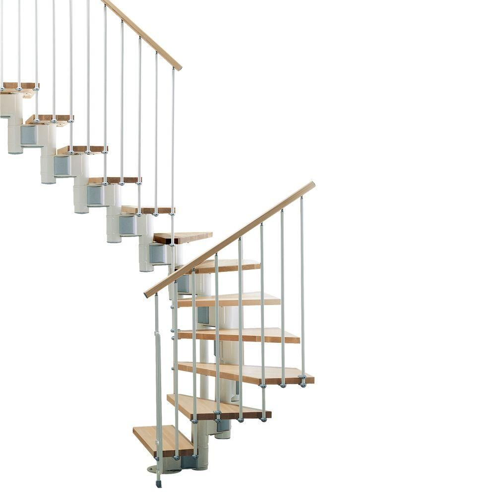Best Arke Kompact 35 In Modular Staircase U Kit K35027 400 x 300