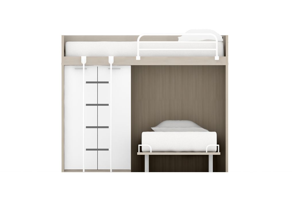 L Shaped Bunk Beds Beds For Children Cabin Beds Mid