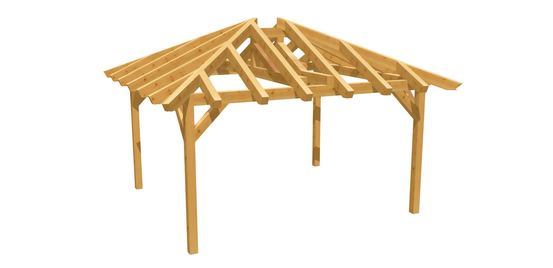Carport Walmdach 4m X 3 50m Selber Bauen In 2020 Carport Selber Bauen Gartenhaus Selber Bauen Selber Bauen Holz