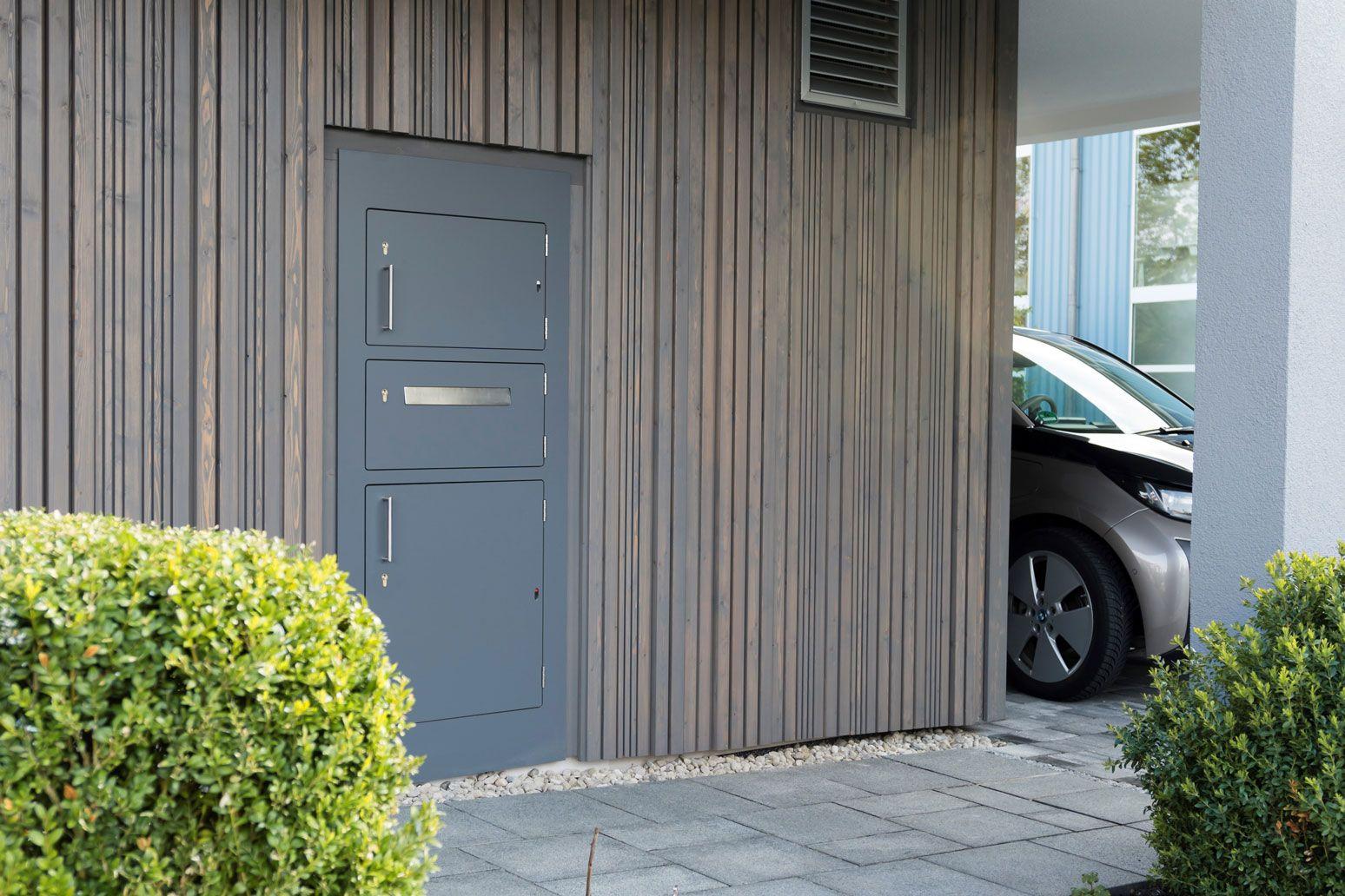Erstaunlich Mypaketkasten Dekoration Von Paketkasten Zum Einbauen In Eine Wand Oder