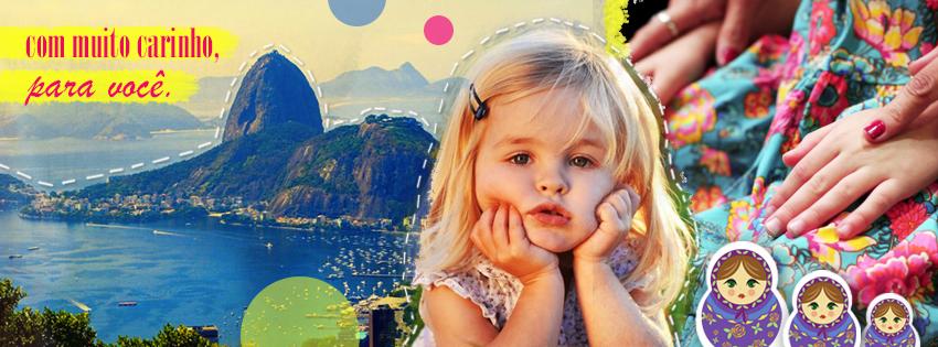 Desde 2008 vestindo a mãe, a filha e a boneca com a mesma estampa! #Moda #Estilo #Infantil #RioDeJaneiro #Brasil #Estampa