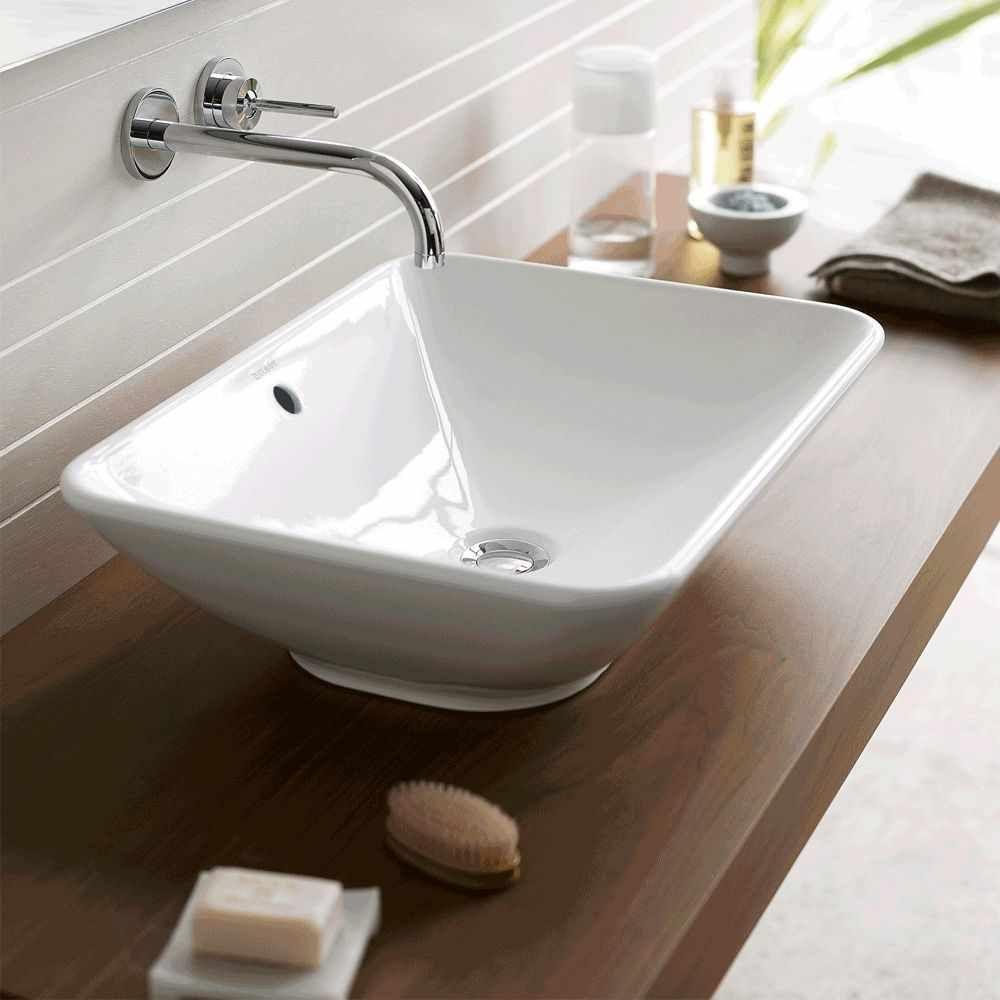 Duravit Bacino Rectangular Washbowl Duravit Bacino Rectangular