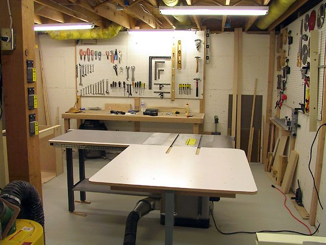 Basement workshops google search basement shops pinterest basement workshop basements - Basement design tool ...