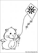 Zhu Zhu Pets coloring pages on ColoringBook.info