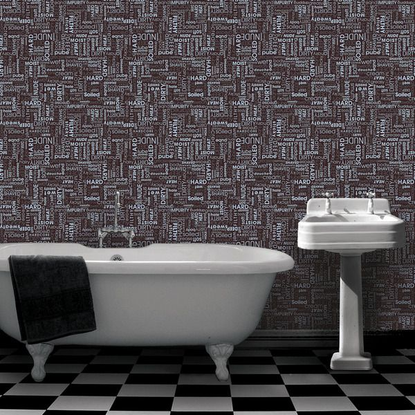 Superieur Clean Yourself Wallpaper U2013 Inspired By Sweaty, Dirty Places We All Get  Ourselves Into, The Wallpaper Design Brings A Clean, Modern Twist To A Room  That ...