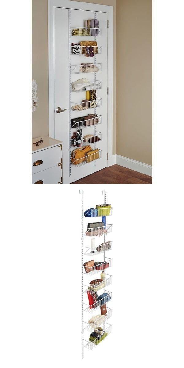 Racks and Holders 46283 Hanging Basket Organizer Storage Door Rack