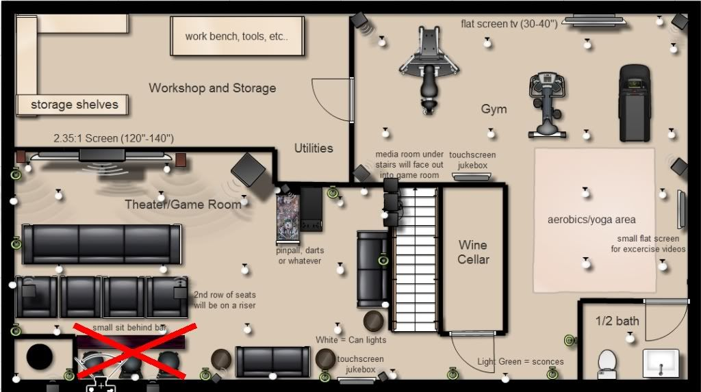 Floor Plans With Theater Room Gym Game Room Game Room Floor Plans New Homes