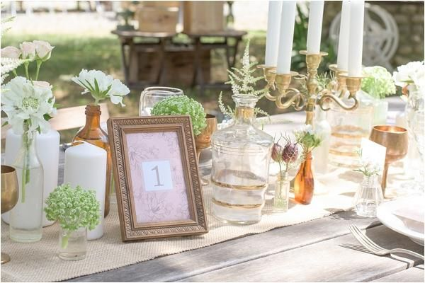 Adorna tu boda con este tip genial. Recrea el estílo francés en tu gran día. #wedding #decoración