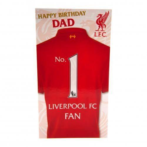 Liverpool F C Birthday Card Dad Dad Birthday Card Birthday Cards Liverpool