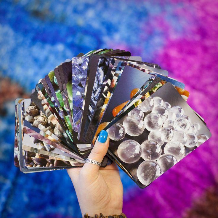 Gemstone Oracle Cards for sacred gemstone guidance