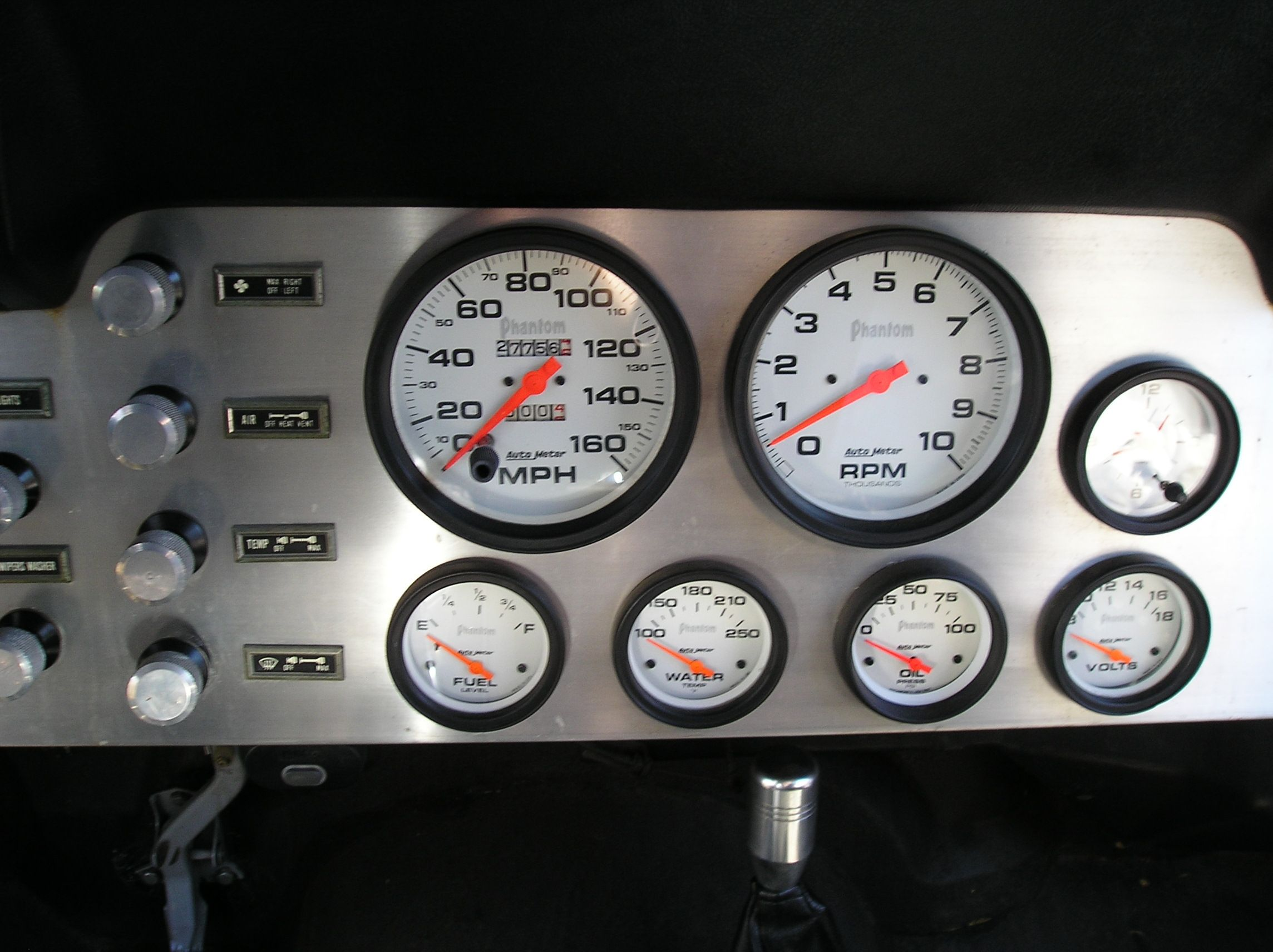 Idea For Redoing The Dash Just Remove The Tach And Clock