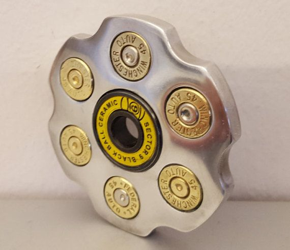 LIMITED QTY The ORIGINAL Hand Cannon Fid Spinner Polished