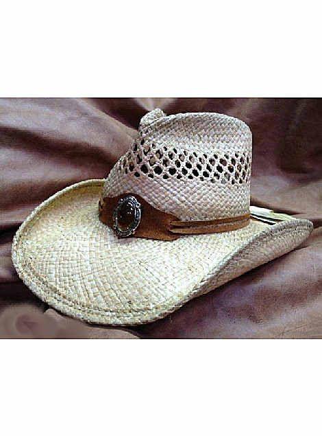 0215e6ad02d Shady Brady Hats Crushable Western Raffia Straw w Gold Front Band 1DW50  Natural straw cowboy hat  strawhats  shadybrady