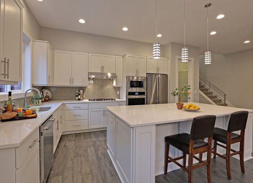 30 beautiful white kitchens design ideas white shaker kitchen white modern kitchen wood on kitchen remodel floor id=12263