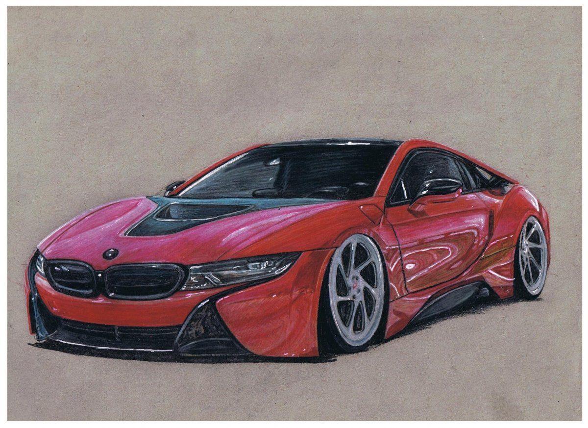 Bmw I8 Lordmcdonnell Bmw I8 Car Drawings Car Design Sketch