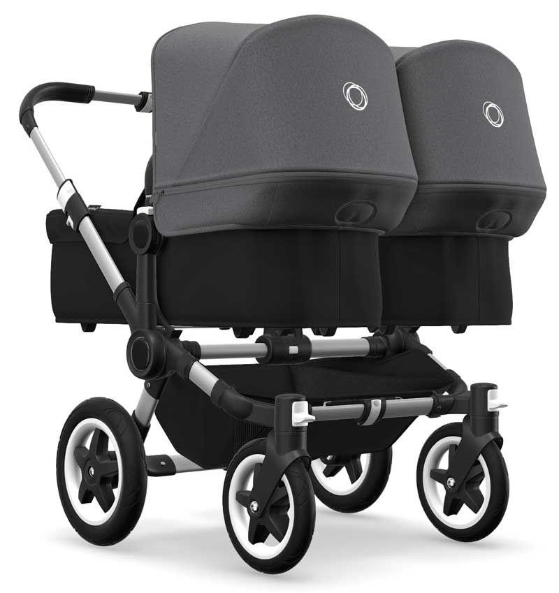Bugaboo Donkey 3 Twin Zwillingskinderwagen 3 In 1 Mit Maxi Cosi Tweeling Kinderwagens Kinderwagen En Kinderwagens