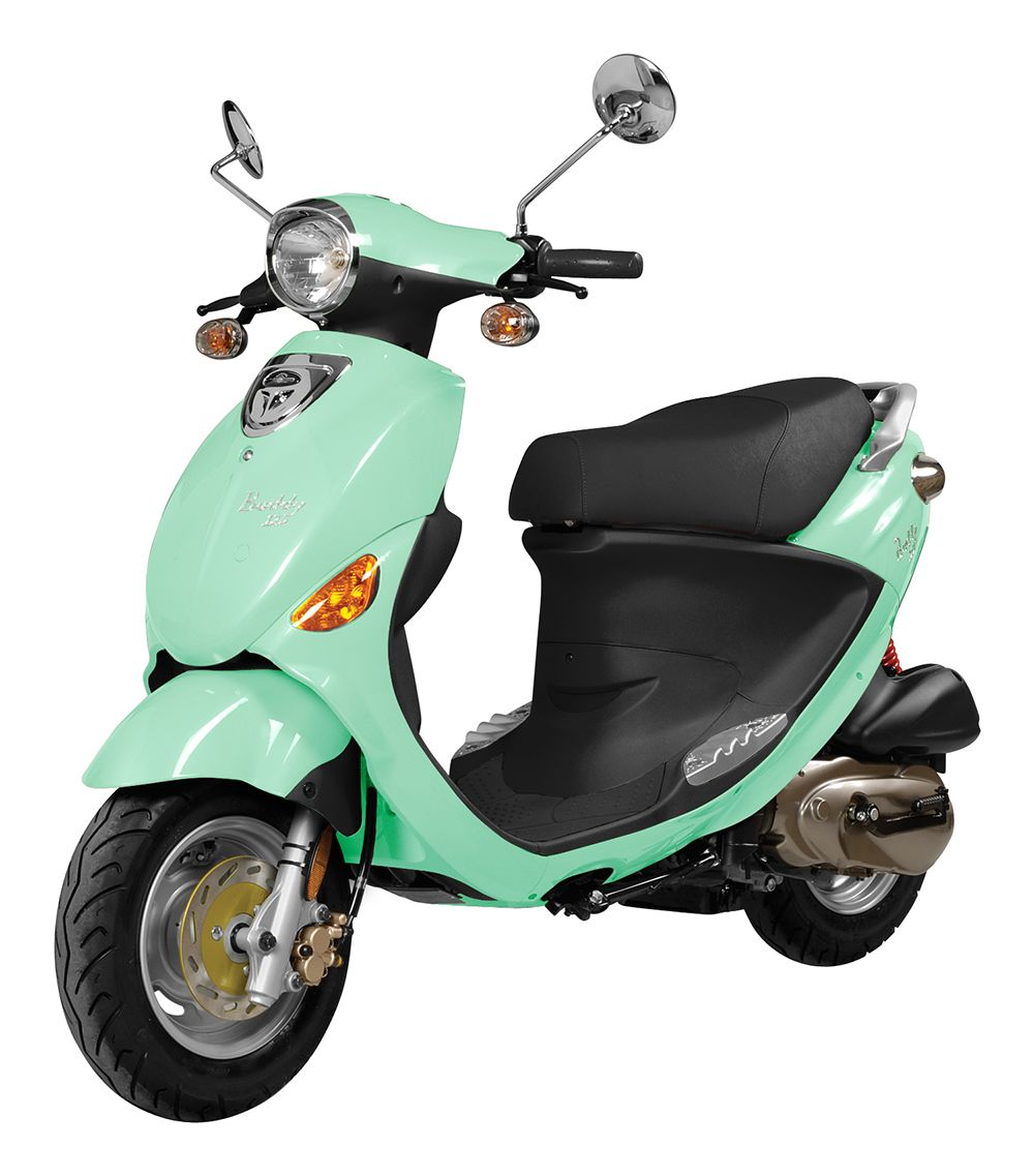 Genuine Buddy 125 Seafoam Green | Scooters | Motor scooters