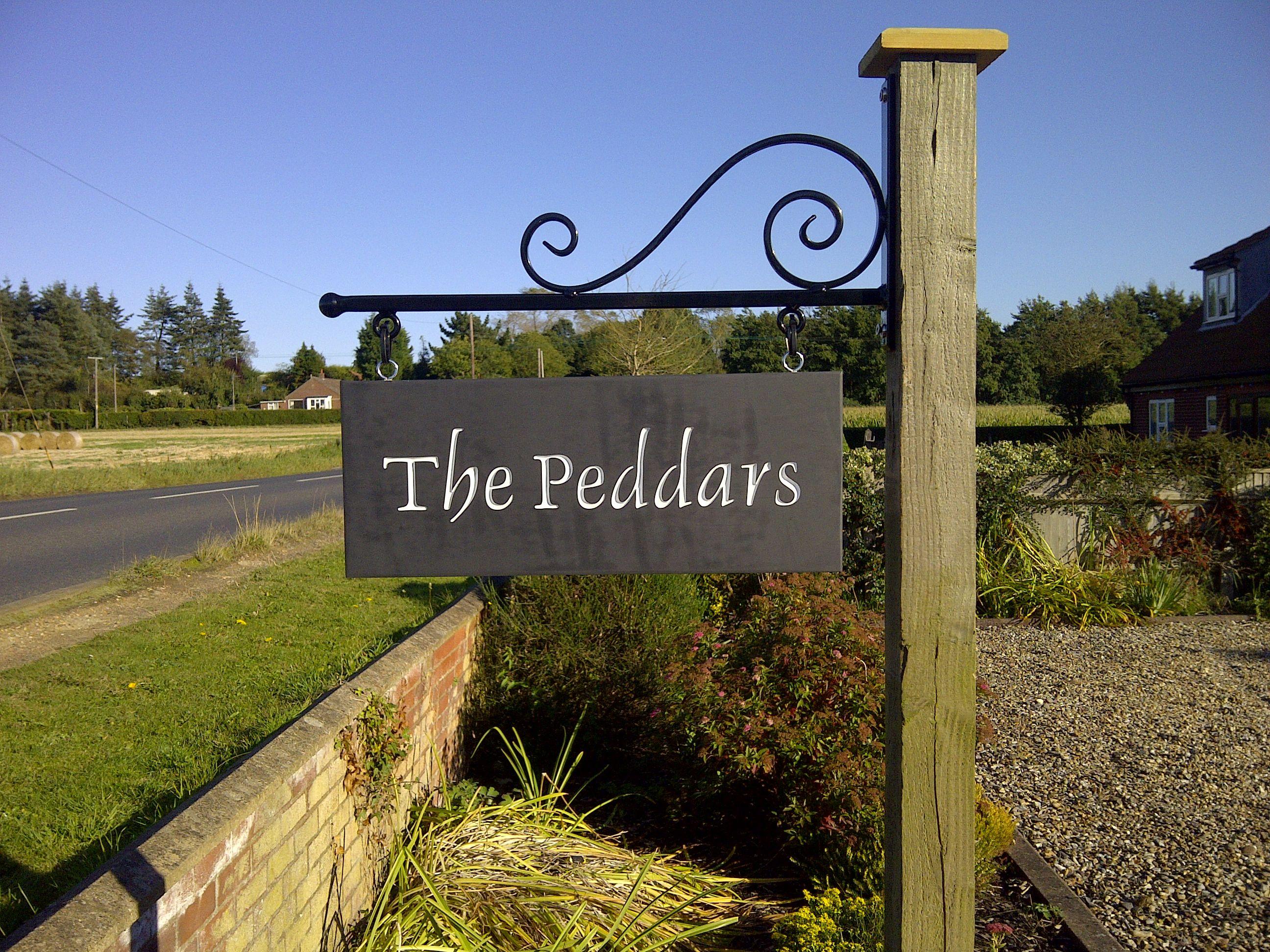 House Signs Tuin En Terras Naambord Tuin