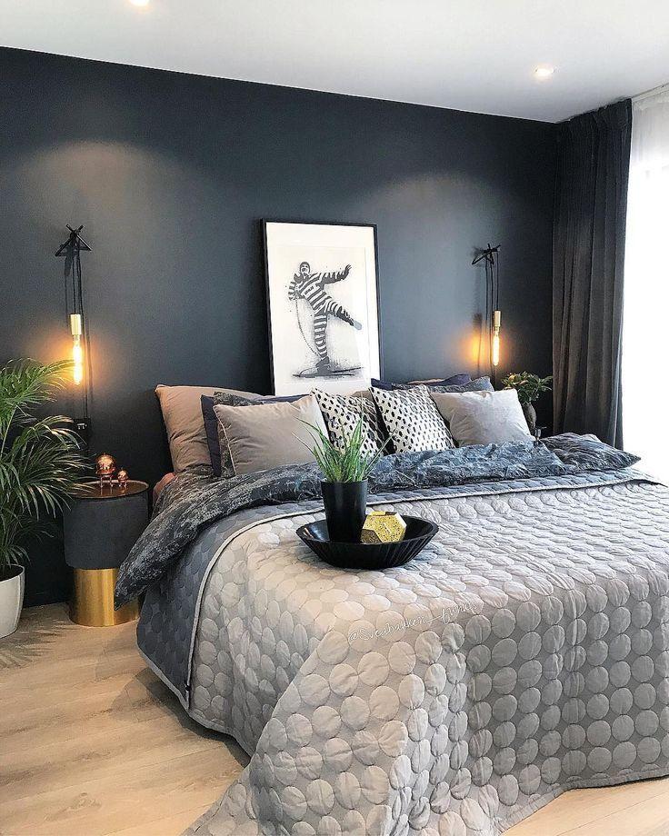 Photo of Untitled #bedroom decor dark blue