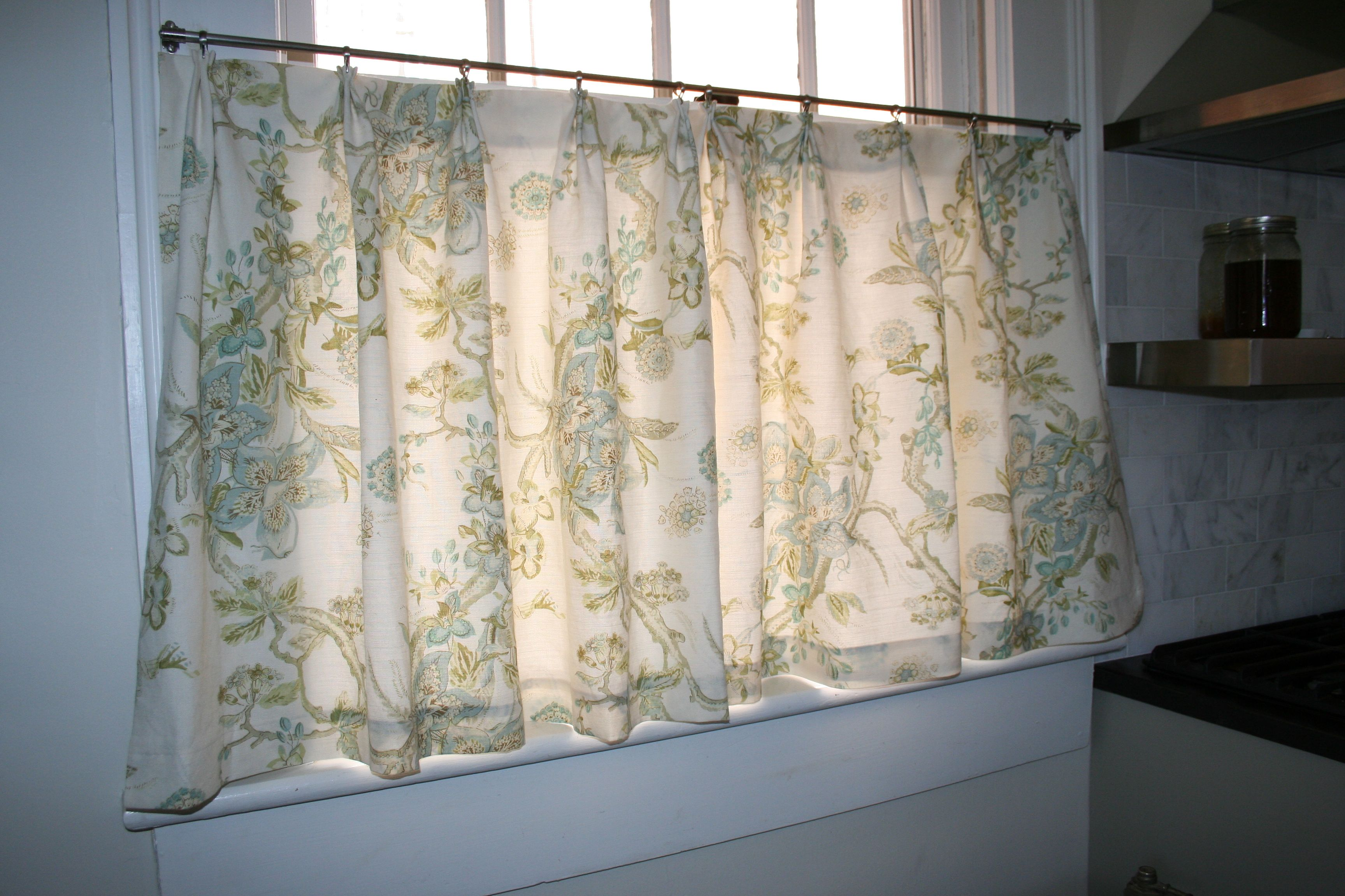 Cafe Curtain Fabric Aquitaine Limonia In Marble Already Have This