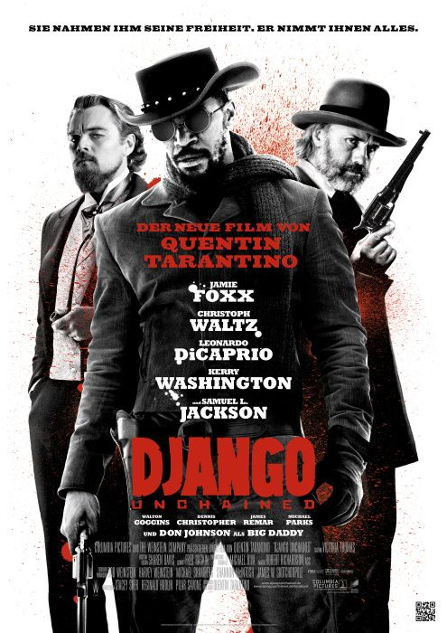 poster zum film django unchained m c in 2019 pinterest. Black Bedroom Furniture Sets. Home Design Ideas