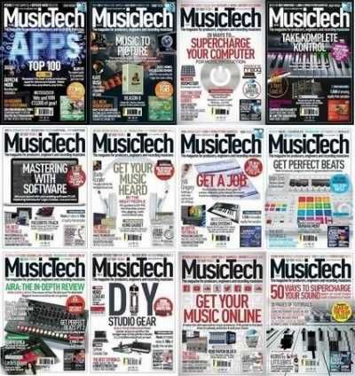 MusicTech Magazine 2014 Full Collection Magesy.Club