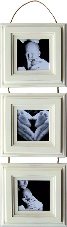 5x5 Three Hanging Collage Picture Frame Set | Well Framed ...