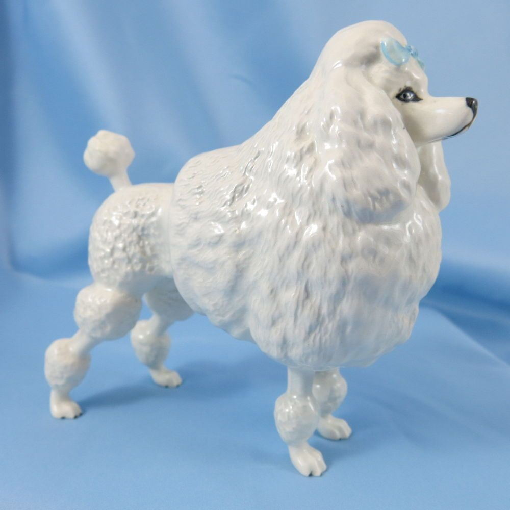 Beswick Poodle Ebonit Av Barbett Dog Figurine Collectibles Animals Dogs Ebay