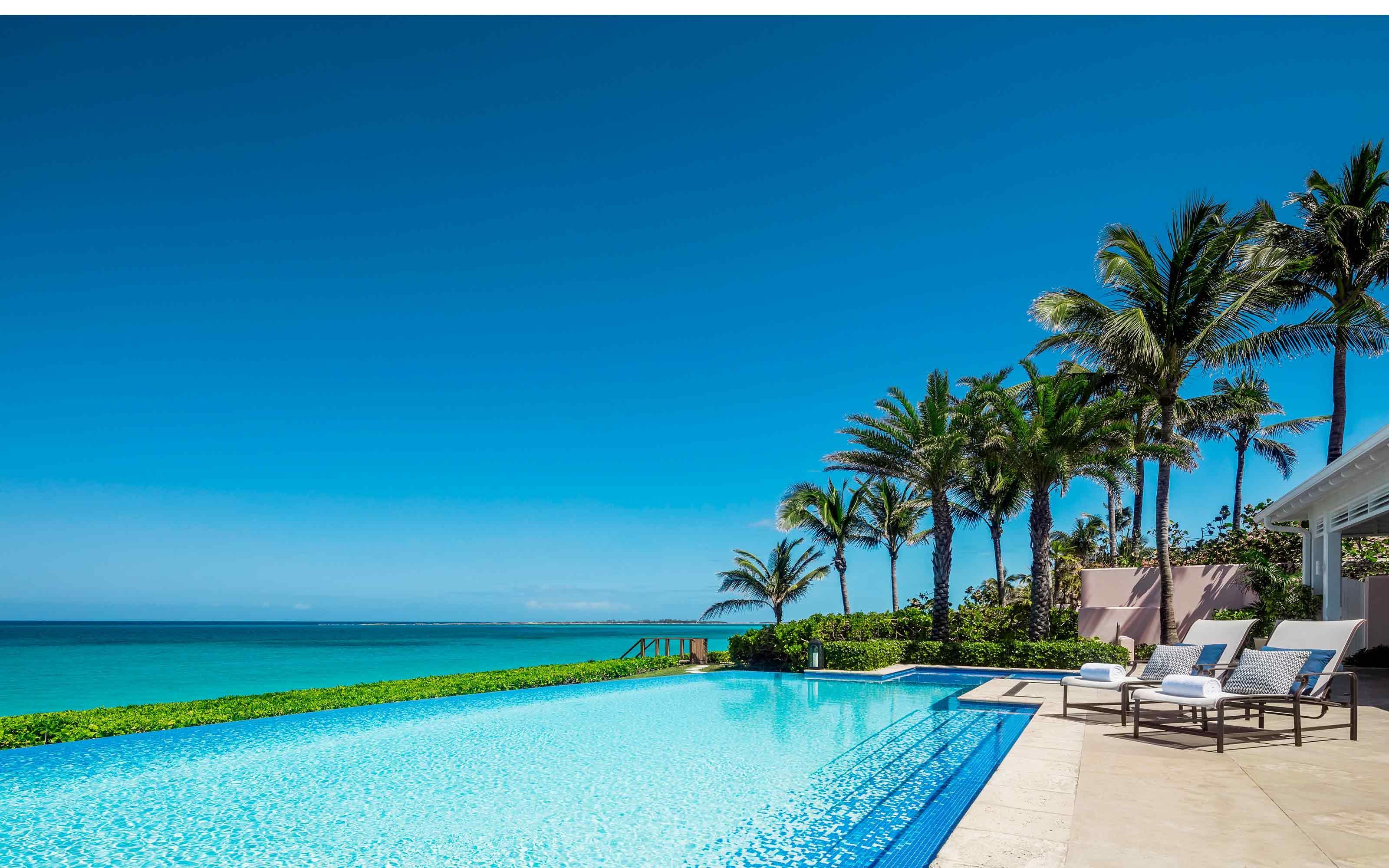 One And Only Beach Club Bahamas Four Bedroom Villa Terrace Bahamas Travel Bahamas Resorts Bahamas Vacation