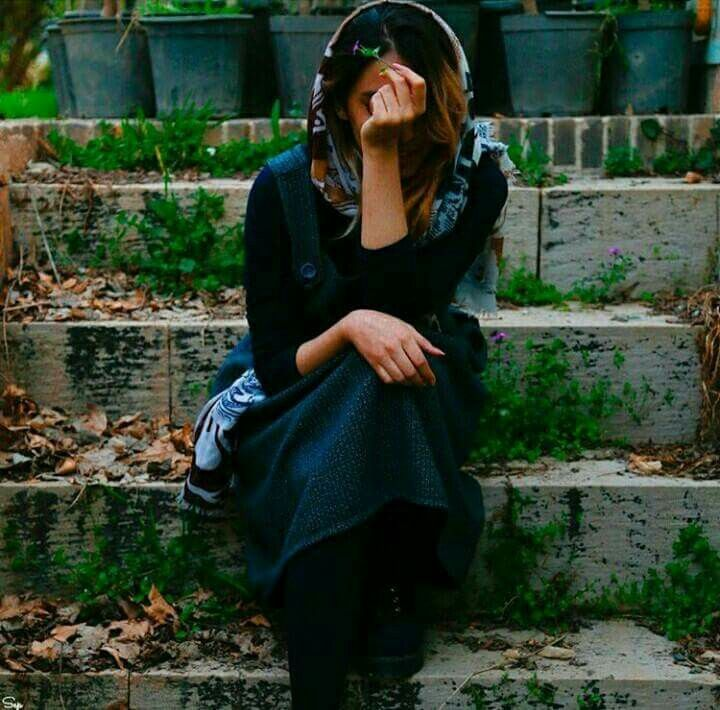 Pin By Princess Fatima On Dpz  Alone Girl, Iranian Beauty -5542