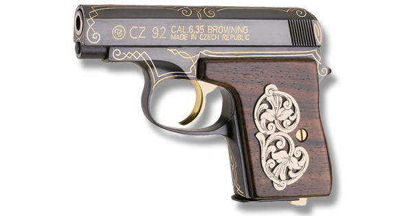as Art A Small Gallery of CZs Engraved Pistol Series