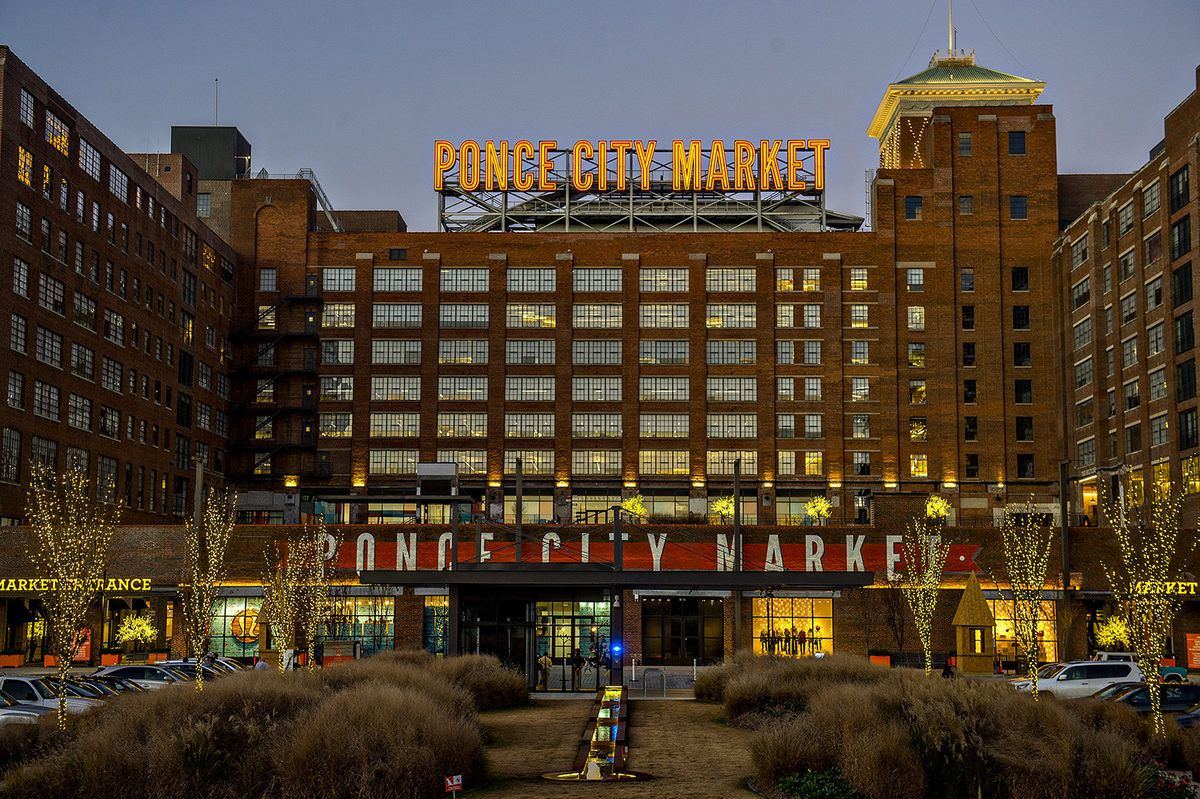 Carnival Inspired Amusement Park On Ponce City Market S Roof Is Open Atlanta Magazine Ponce City Market Atlanta Atlanta Georgia Downtown City Market