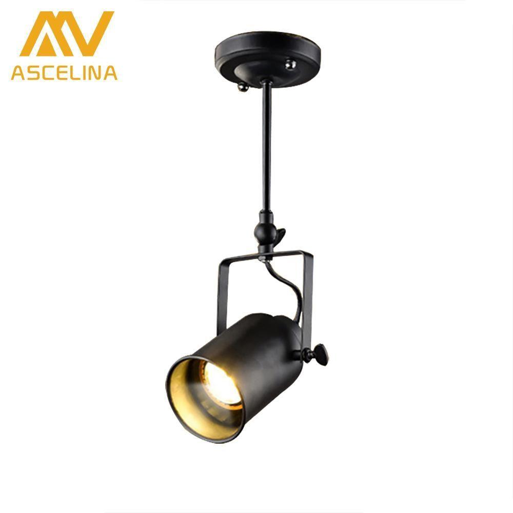 Cafe restaurant pendant lighting loft spotlights led lamp luz led
