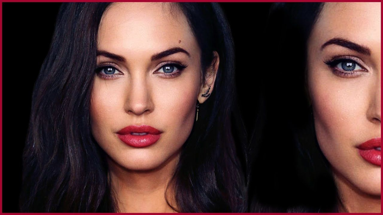 Angelina Jolie And Megan Fox Kissing