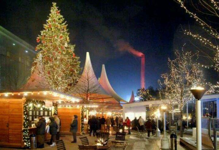 winter market lovers at Ritz Carlton Wolfsburg