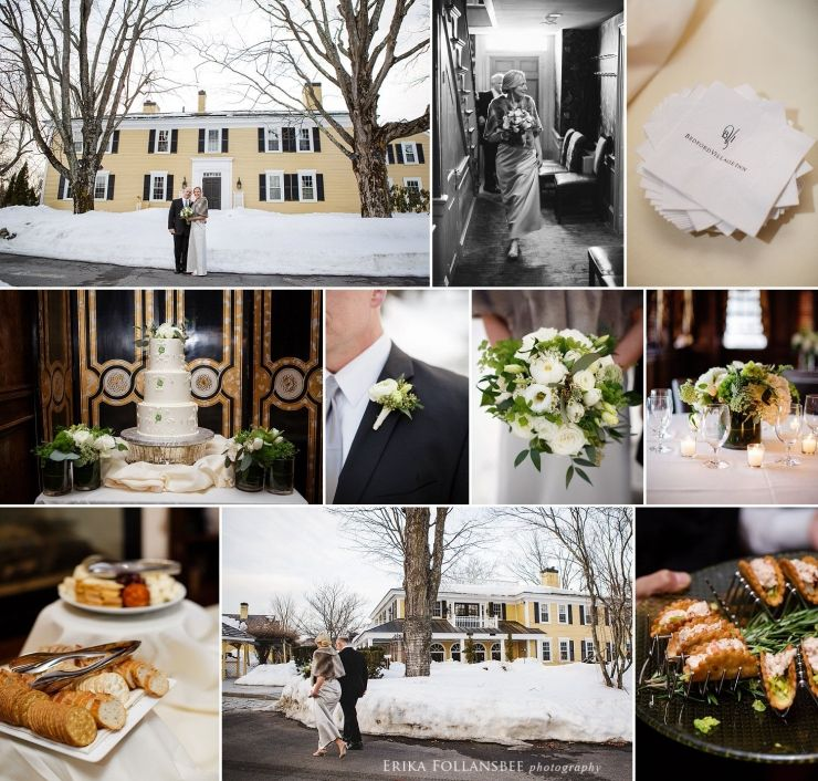 Bedford Village Inn Winter Wedding