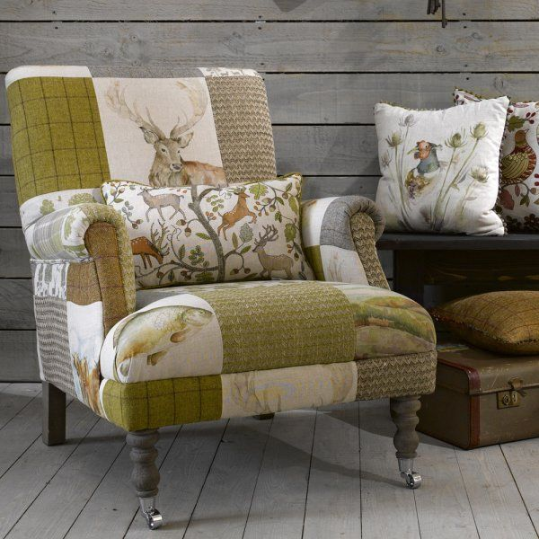 Voyage Maison Gregor Country Patchwork Chair Chairs Sofas