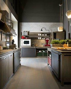 L\'Ottocento porta lo stile post-industriale nell\'Ambiente Cucina ...