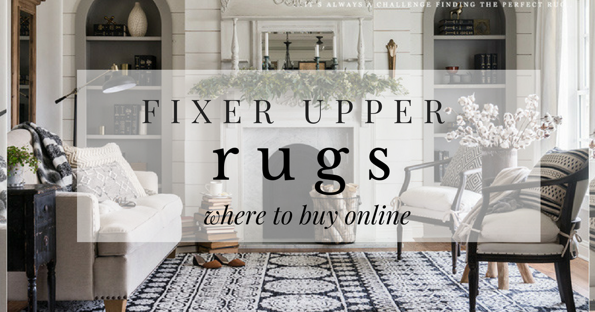 Add Style And Texture To Your Space With These Affordable Fixer Upper Rugs By Joanna Gaines And Lolo Fixer Upper Rugs Fixer Upper Living Room Fixer Upper Decor