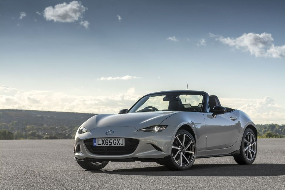 600 lucky British drivers will look luxuriously stylish as they cruise around in the Mazda Miata Recaro Sport Edition. Read more about this limited edition model at http://ow.ly/UADZQ.