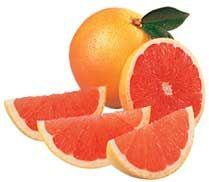Efectos saludables del pomelo o toronja.