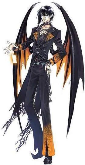 anime boy with demon wings wwwpixsharkcom images
