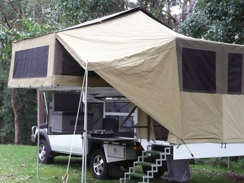 The Amazing Wedgetail Truck Camper From Australia Living