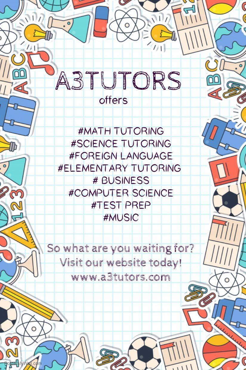 A3tutors, LLC on
