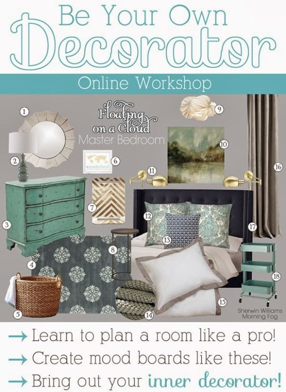 Interior decor  course be your own decorator setting for four also mood boards rh pinterest