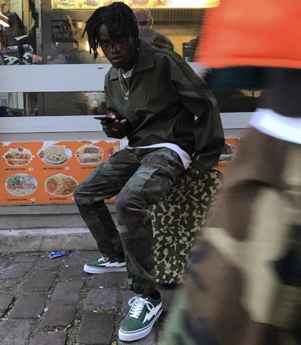 62ba290e562fa Ian Connor in Revenge x Storm