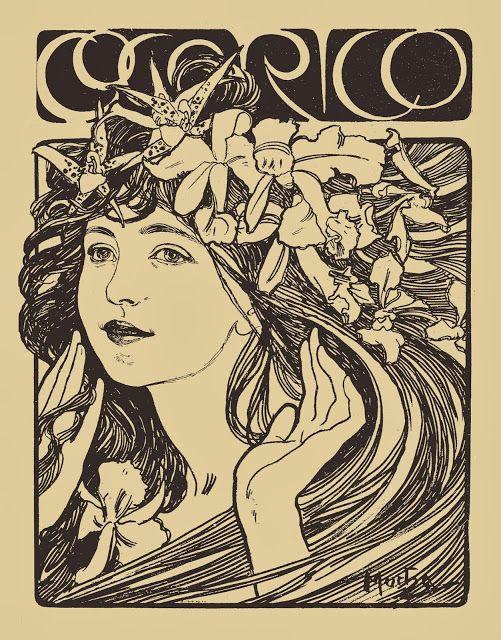 Artefacts Antique Images Art Nouveau Mucha Art Nouveau Illustration Mucha Art