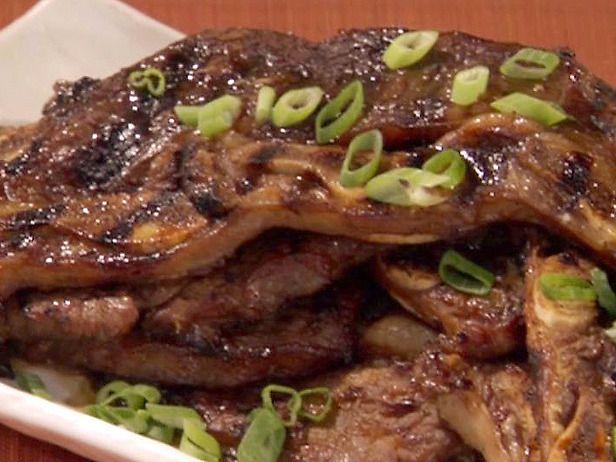 Kalbi (Korean Barbequed Beef Short Ribs) #marinadeforbeef