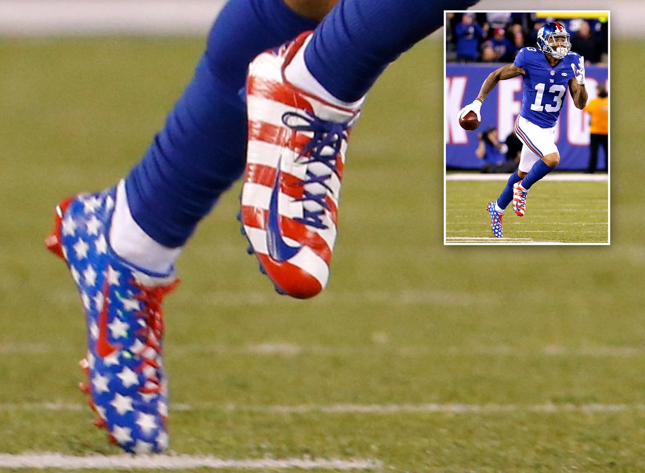 Image result for odell beckham jr cleats | football | Pinterest ...